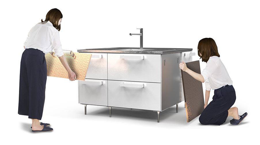 Đảo bếp thép không gỉ Toyo Kitchen Style I Kitchen CUBE