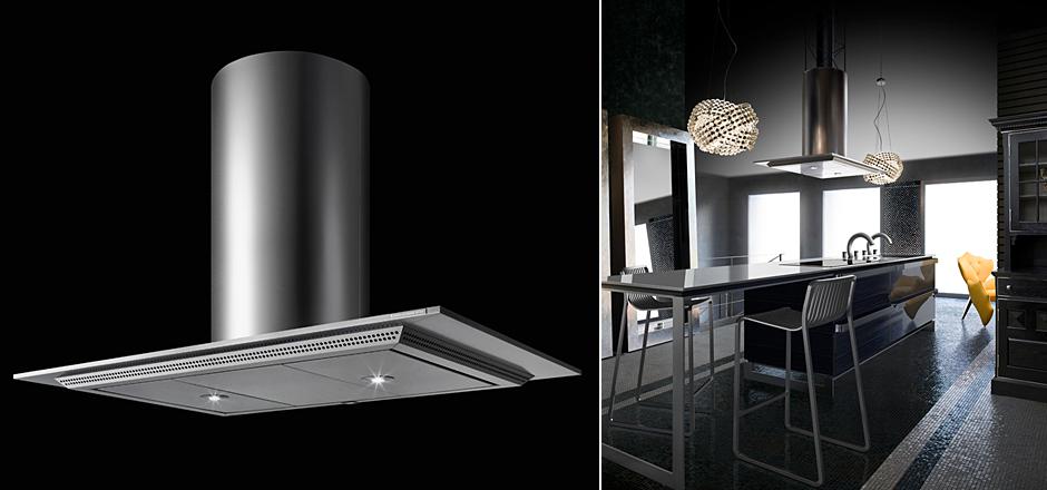Máy hút khói nhật bản toyo kitchen style thin