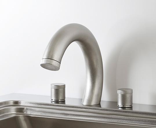 vòi nước thép không gỉ nhật bản toyo kitchen style big