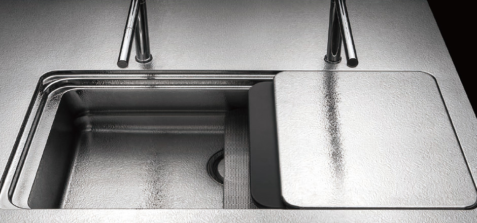 Bồn rửa thép không gỉ cỡ lớn Toyo Kitchen Style 2