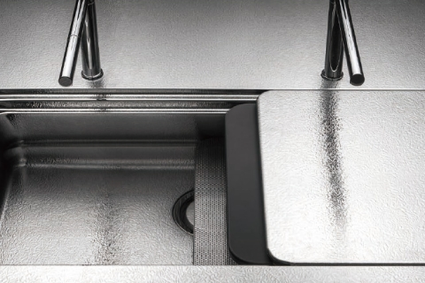 Bồn rửa thép không gỉ thủ công cỡ lớn - Niềm tự hào của riêng Toyo Kitchen Style