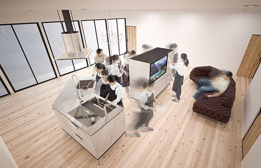 LIVING CORE - Phong cách sắp xếp không gian mở cho nhà nhỏ 2