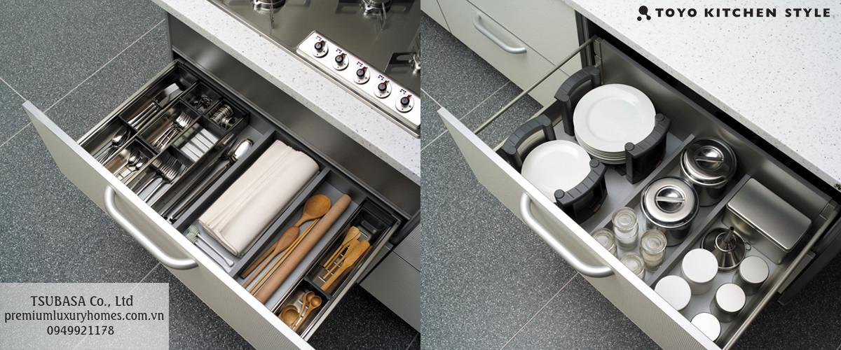 Quy tắc sắp xếp đồ dùng nhà bếp của người Nhật 2