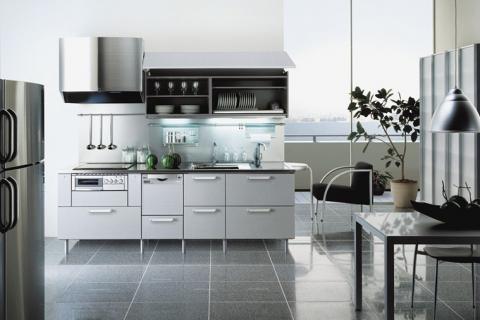 Chân bếp nổi - Đặc điểm có một không hai của Toyo Kitchen Style