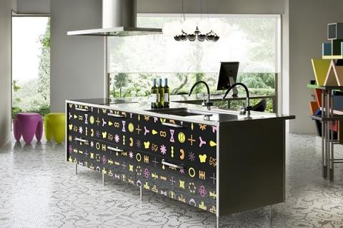 Hệ màu sắc tủ bếp đặc biệt chỉ có bởi Toyo Kitchen ...