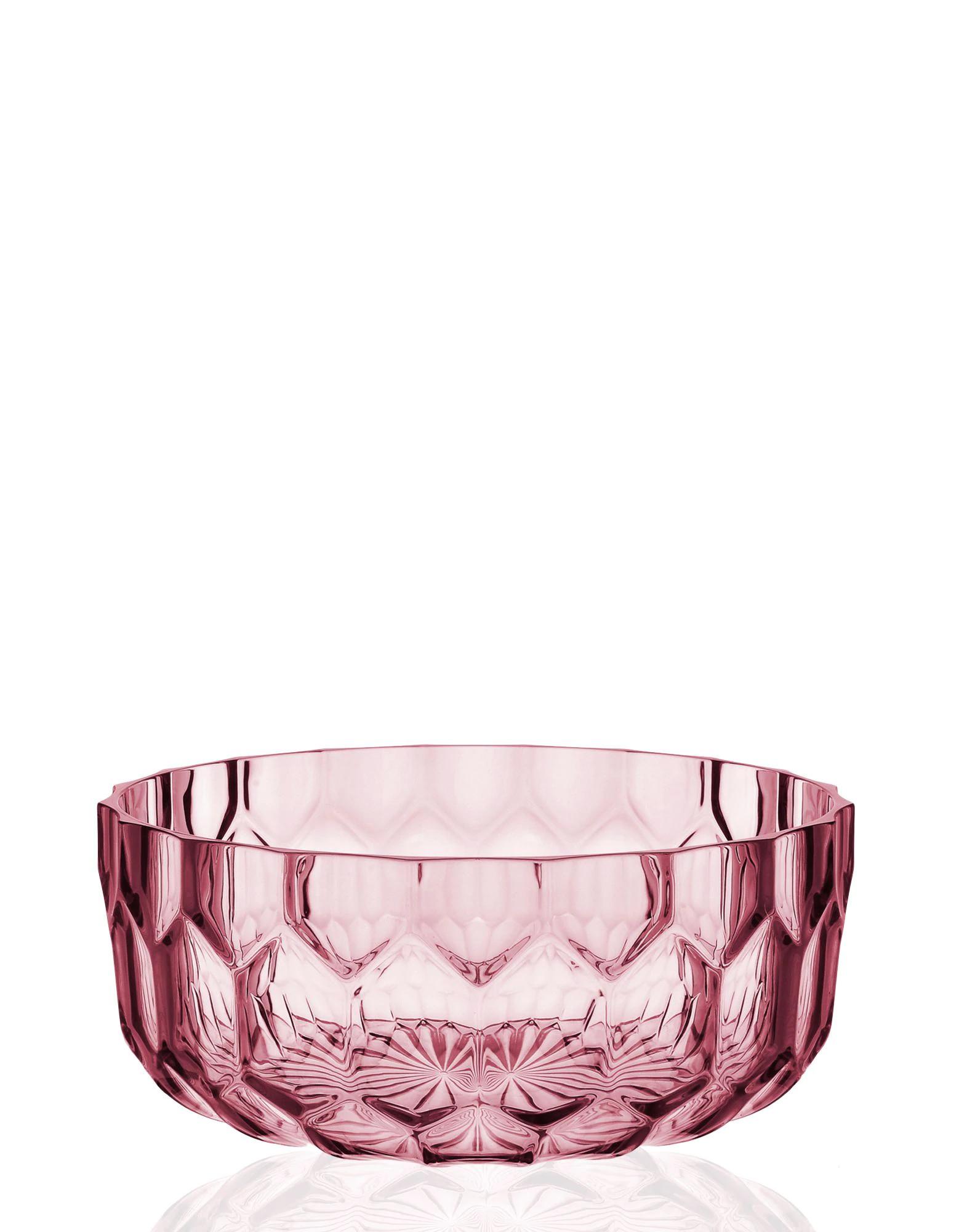 Kartell Jellies Family Salad Bowl Pink 2