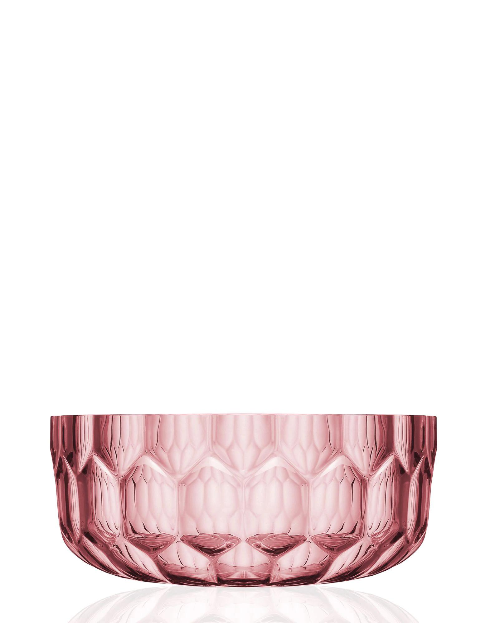 Kartell Jellies Family Salad Bowl Pink 1