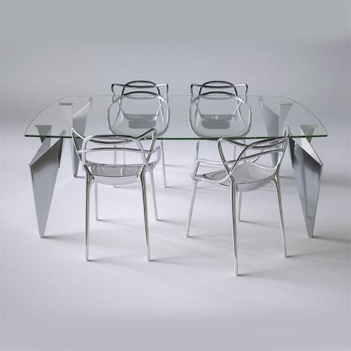 Bộ bàn ăn Origami (Master Chrome + Origami)