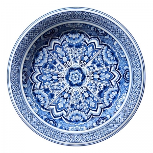 Delft Blue Plate φ350