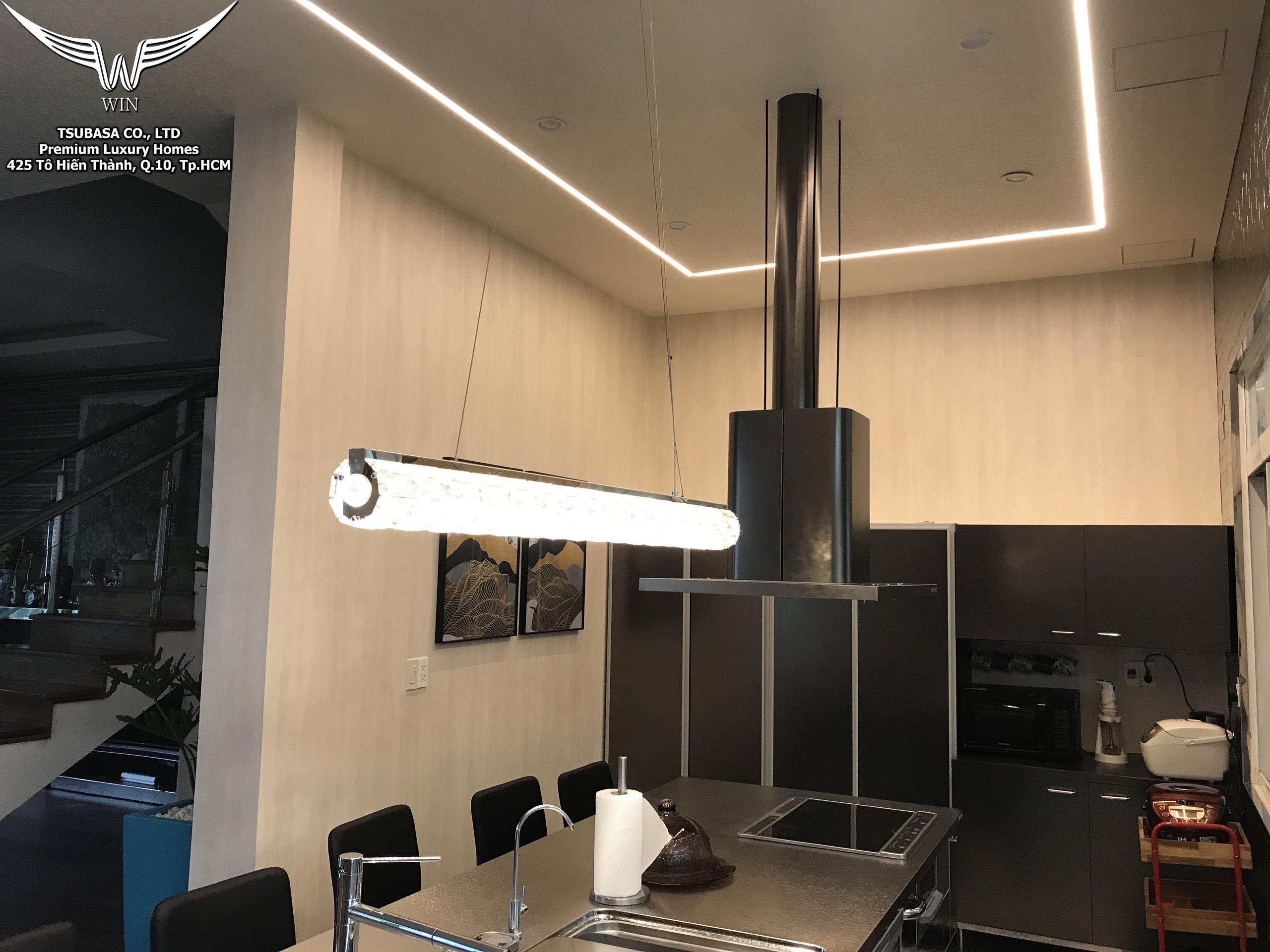 Thi công nội thất phòng bếp cao cấp 4