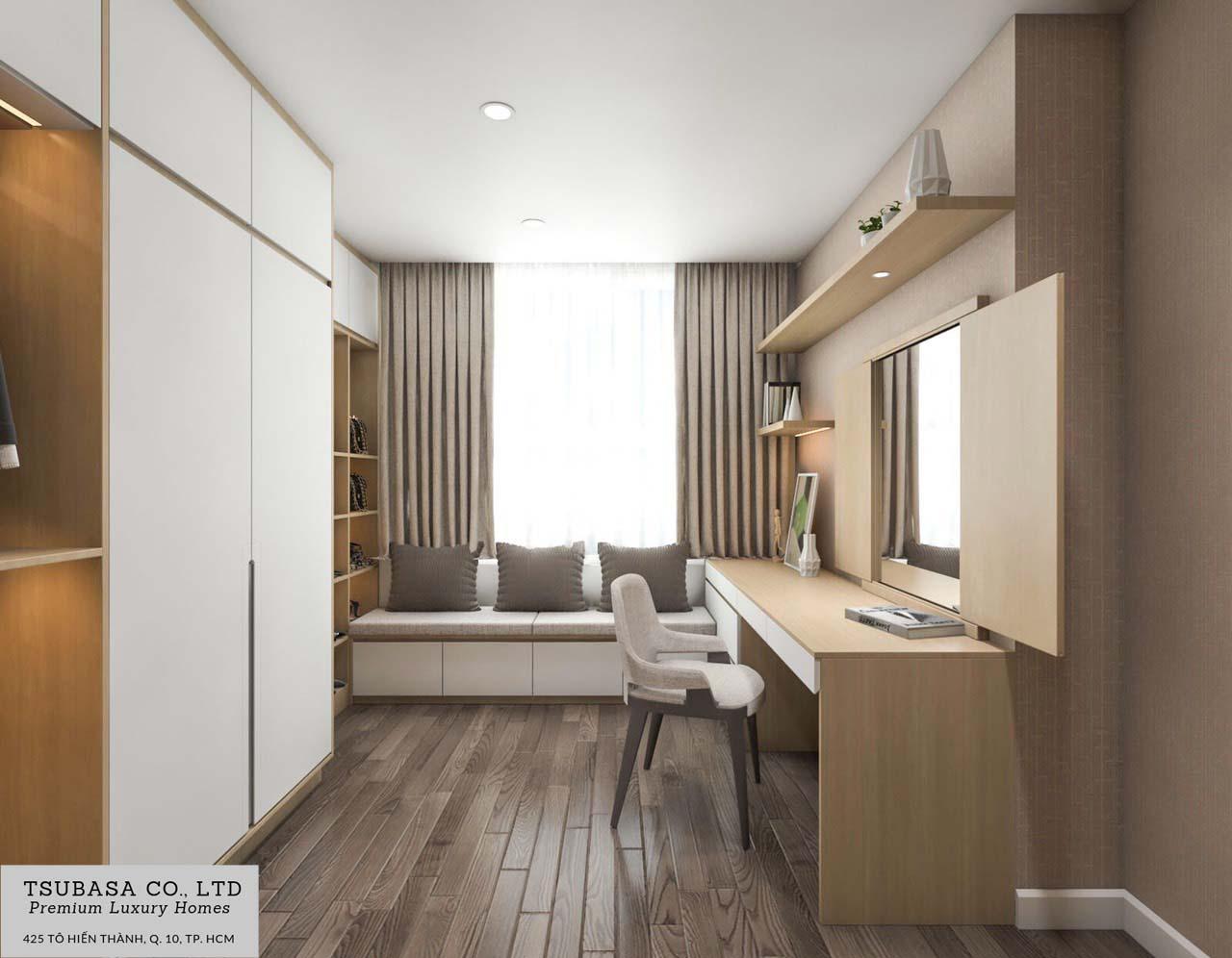 Nội thất căn hộ Sunrise Riverside Nhà Bè 110m2 11