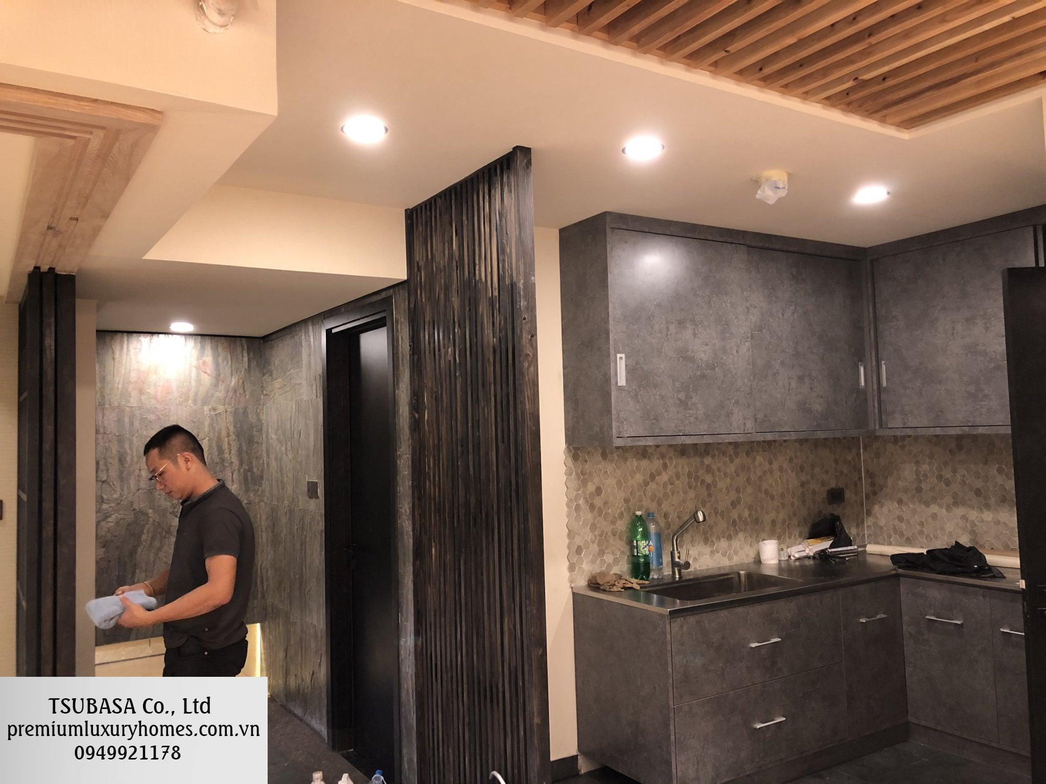 Hoàn thiện nội thất căn hộ CC Saigon Royal Quận 4 6